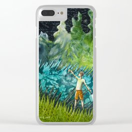 Firefly Nights Clear iPhone Case
