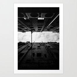 Melbourne Laneway Art Print