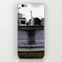 israel iPhone & iPod Skins featuring Israel Fountain by R. Nicole