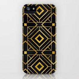 Exotic Art Deco Breathtaking Geometric Design iPhone Case