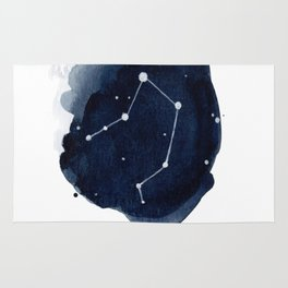 Zodiac Star Constellation - Libra Rug