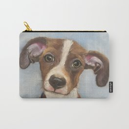 Cute Terrier Mix Carry-All Pouch