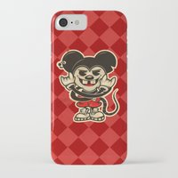 rat iPhone & iPod Cases featuring Rat by Shunshoo