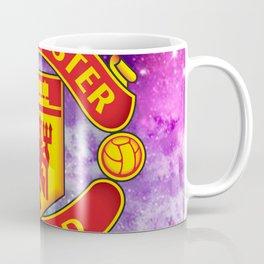 Manchester United Galaxy Design Coffee Mug