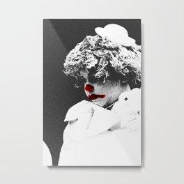 Clown 3 Metal Print