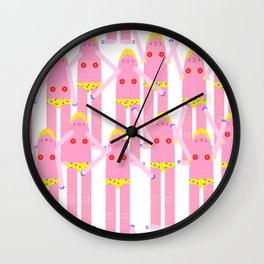 domingos y domingas Wall Clock