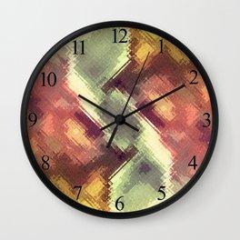 Glass Texture no6 Wall Clock