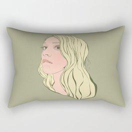 Chloe Sevigny Rectangular Pillow