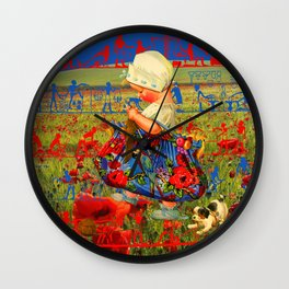 THE LITTLE LADY X Wall Clock