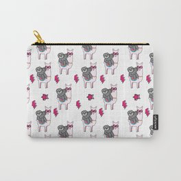 Sloth Llama Carry-All Pouch