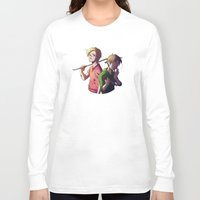 pewdiepie Long Sleeve T-shirts featuring Pewdiecry by Kiwa