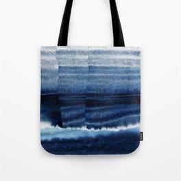Blue Escape Watercolor Tote Bag