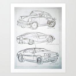 Car Concept  Art Print