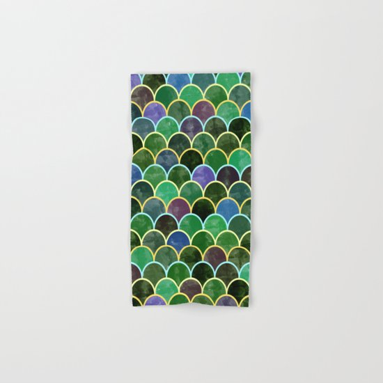 Watercolor Lovely Pattern VVII Hand & Bath Towel