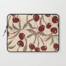 Sweet Cherry Batik Laptop Sleeve