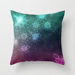 Snow grace Throw Pillow