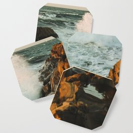 waves come crashing Coaster