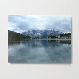Lago di Misurina Metal Print