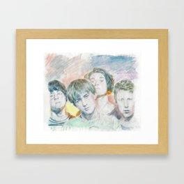 1990 Framed Art Print