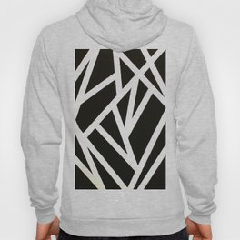 Abstract Black & White Hoody