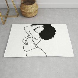 Nude in Black No. 5 Rug