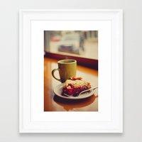 pie Framed Art Prints featuring Pie by Jo Bekah Photography