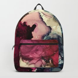 Dark Inks - Alcohol Ink Painting Backpack
