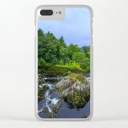 wild water Clear iPhone Case