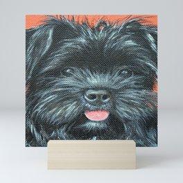 Terrier Painting - Koda Mini Art Print
