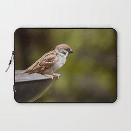 Sparrow Wild Bird Laptop Sleeve