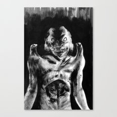 For Each Of Man's Evils A Special Demon Exists Canvas Print