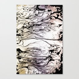 LIQUID MARBLED & PASTEL Canvas Print