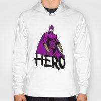 hero Hoodies featuring Hero by Logan_J