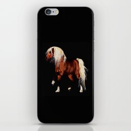 HORSE - Black Forest iPhone Skin