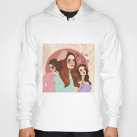 lana Hoodies featuring Lana by Clementine Petrova