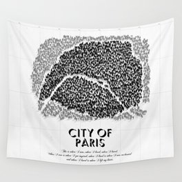 City of Paris Wall Tapestry