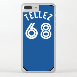 Rowdy Tellez Jersey Clear iPhone Case