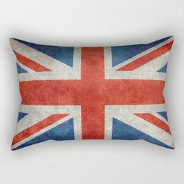 UK flag, High Quality bright retro style Rectangular Pillow