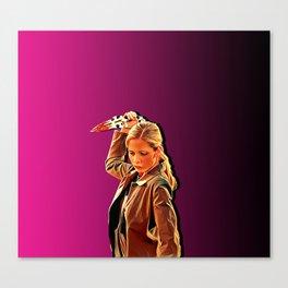 Buffy Slays Canvas Print