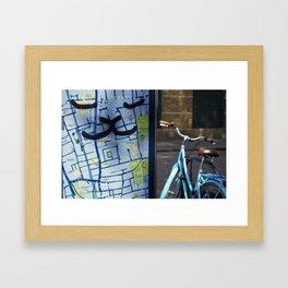 London bike ride Framed Art Print