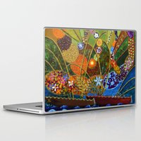 happiness Laptop & iPad Skins featuring Happiness by Vargamari
