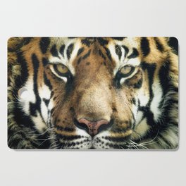 Face of Tiger Cutting Board