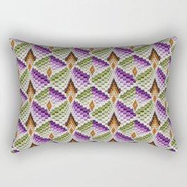 Antique Needlepoint 3  Rectangular Pillow