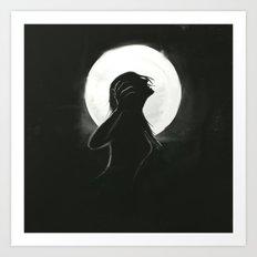 Bury Anger Art Print