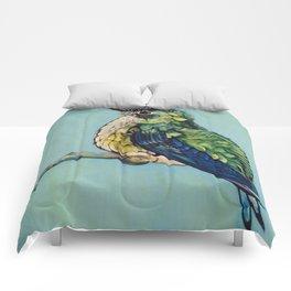 Smallest Hummingbird  of the Jungle II Comforters