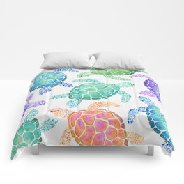 Sea Turtle - Colour Comforters