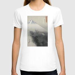 Dragon Rising to the Heavens at Mount Fuji by Ogata Gekko T-shirt