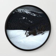 Loveland Pass Wall Clock