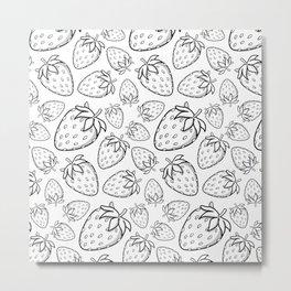 Ghostberries Metal Print