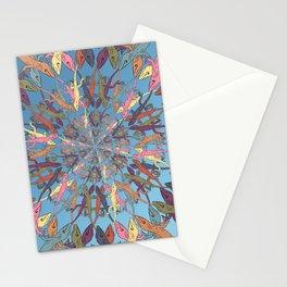Lizard Snowflake Stationery Cards